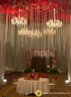 Simple yet gorgeous wedding foyer at the bali room kempinski hotel silver wedding anniversary of martias and silvia venue at mulia hotel organized by multi junglespirit Images