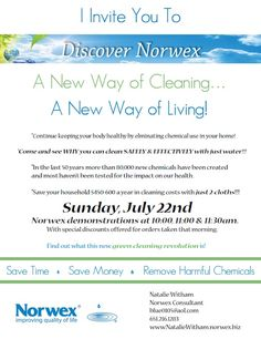 norwex party invitation  ocassionally i am forced to design in, party invitations