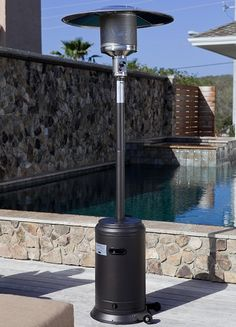 WOW!  Only $199.99 - Mocha Finish Commercial Patio Heater - Free Shipping Camelot Living!