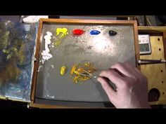 How To Mix Yellow Ochre - Color Mixing Exercises What Colors Make Gold, Gold Paint Colors, Mixing Paint Colors, Gold Acrylic Paint, Acrylic Tips, Acrylic Painting Lessons, Metallic Colors, Acrylic Colors, Color Mixing