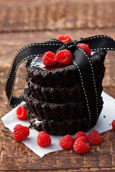 Chocolate Truffle Tarts to Celebrate ~