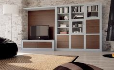 Modular system Structure in ash wood Available with frontal and back panels in canaletto walunt or ash wood Bookshelves, Bookcase, My House, Entryway, Contemporary, Living Room, Design, Furniture, Home Decor