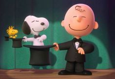 Magic with Charlie Brown and Snoopy