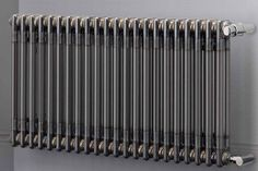The Zehnder Charleston is a radiator from 1930 fabricated using new production techniques.