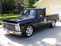 1971 Chevrolet Cheyenne C10 Short-Wide Custom Show Truck 400ci SBC Alum He