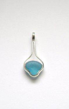 Sea Glass Jewelry  Sterling Rare Turquoise Sea by SignetureLine, $60.00