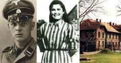 An Auschwitz love story has emerged more than 70 years on from the depths of a Nazi concentration camp, where a Jewish prisoner fell in love with one of the SS guards at the camp, saving her and h