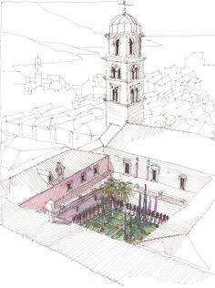 https://flic.kr/p/pa4zu4 | monastery garden, Dubrovnik, HR | HR, Juni 2013
