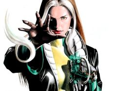 Rogue is a fictional character in most of the Marvel Comics award-winning X-Men related titles. Ms Marvel, Marvel Heroes, Marvel Comics, Marvel Women, Marvel Girls, Gambit X Men, Rogue Gambit, Scarlett O'hara, Man Character