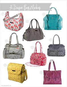 Huge Fan Of Diaper Bags That Look Like A Purse And Not Bag