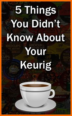 5 Things You Didn't Know About Your Keurig Sweet Coffee, I Love Coffee, Coffee Break, Coffee Bars, Morning Coffee, Coffee Maker, Coffee Wine, Coffee Drinks, New Things To Learn