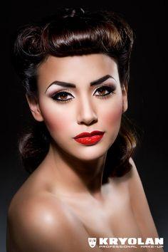 New 21 beste afbeeldingen van Jaren 60 makeUp - Hair, makeup, Mod #SE26