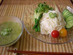 オクラのすり流し素麺 - 朝ごはんレシピ/朝時間.jp by レシピブログ