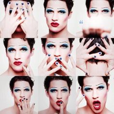 Want to see so badly.  Hedwig promo / Darren Criss