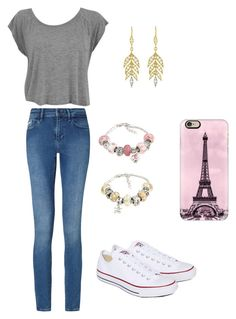 How to Wear Converse by hahamed on Polyvore featuring Calvin Klein, Converse, La Preciosa, Cathy Waterman, Casetify, converse and trend