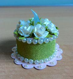 """""""Key Lime"""" Tea Light Cake (made by Kim)"""