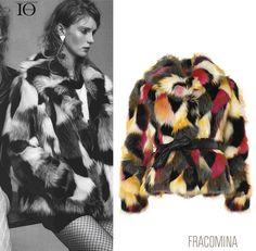 Forte e decisa per esaltare la tua femminilità, la nostra eco pelliccia è sulle pagine di IO DONNA. Get inspired-> http://goo.gl/g2lyEX Strong and resolved to enhance your femininity, #fracomina eco-fur featured on Io Donna. Get inspired-> http://goo.gl/QyKfJd