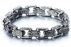 Biker Jewelry for Men/Biker Bracelet for by beyondcoolmetal
