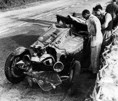 LE MANS 1937 -  BUGATTI Type 44  #20 -  René Kippeurt - René Poulain