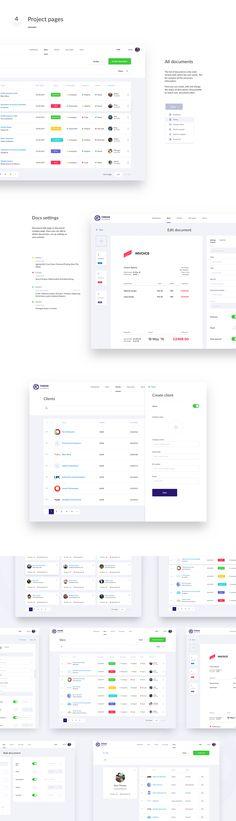 FinDox — Accounting Dashboard on Behance