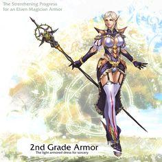Elven Magician Armor 2nd Grade by reaper78 on deviantART