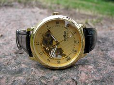 Herrklocka Winner - Gold Split #herrklocka #herrklockor #gold #split #watch #fashion #swag #runns #armbandsur