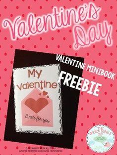 Valentine's Day Mini Book Freebie!