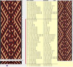 30 tarjetas, 3 colores, repite cada 36 movimientos // sed_394 diseñado en GTT༺❁