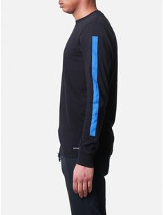 Saturdays color block arms l/s tee Sport Fashion, Fashion 2020, Mens Activewear, Men Closet, Designer Clothes For Men, Athletic Fashion, Mens Outfitters, Sport Wear, Striped Tee