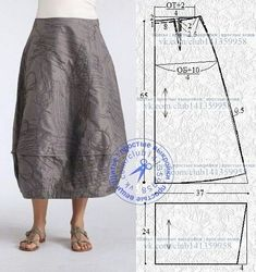 Linen Dress Pattern, Skirt Patterns Sewing, Clothing Patterns, Fashion Sewing, Diy Fashion, Sewing Clothes, Diy Clothes, Hippie Style Clothing, Apparel Design