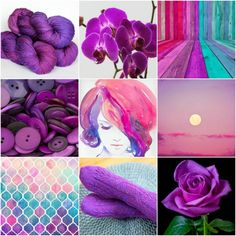 Mood Board Monday - Jewel from Tanis Fiber Arts