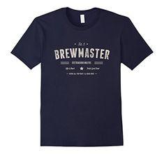 BrewerShirts Mens Brewmaster Brewery T-Shirt Beer Brewing Gift #craftbeer #homebrewer #brewer #brewday