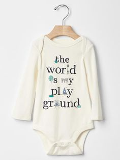 Shop by size to create an adorable outfit for your little one with baby girl collection from Gap. Short Outfits, Girl Outfits, Baby Quotes, Baby Sayings, Baby Kids Clothes, Long Sleeve Bodysuit, Baby Gap, Clothing Items, Maternity
