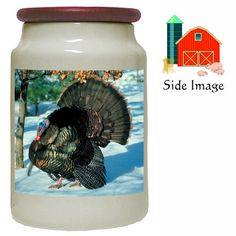 Turkey Canister Jar