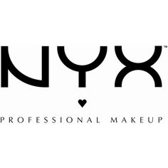 Nyx is my brand for eye shadow, eye liner, lip gloss, any product that is applied all over the face, and fun shades of lipstick.