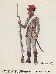 Hussards à pied