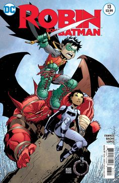 The series conclusion to Damian Wayne's quest for atonement! In the wake of a victory, Damian, Maya and Goliath discover that there is still one enemy left to vanquish-the most terrible of all. Only t