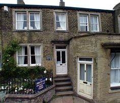 this is the bronte birth place on market street thornton bradford west yorkshire bd13