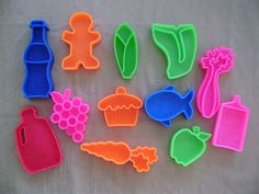 Mattel Tuff Stuff Foods - to go with the buggy and kitchen