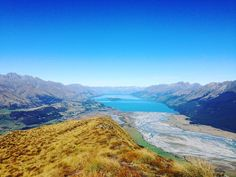 Checking in from the top of the world. OK technically we're at the bottom of the world. #Glenorchy #newzealand