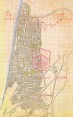 Master Plan for Tel Aviv, 1925 by Patrick Geddes