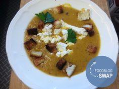 Marijke (part 1/2) - #FoodBlogSwap - Pittige wortelsoep met geitenkaas - Geur van Maillard