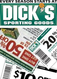 50% Off Dicks Sporting Goods Coupons - January Printable Coupons #dicks #deals #sporting_goods