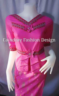 Myanmar fashion dress# laos style