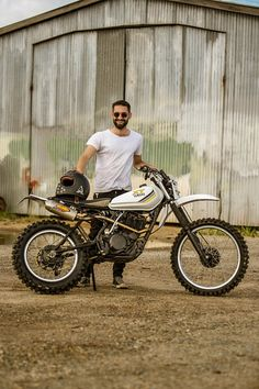 Purpose Built Moto's Yamaha MX Scrambler Tracker Motorcycle, Scrambler Motorcycle, Moto Bike, Girl Motorcycle, Motorcycle Quotes, Dt Yamaha, Yamaha Cafe Racer, Custom Motorcycles, Custom Bikes