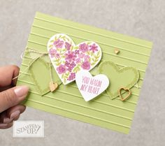 The Heart Happiness stamp set is not just for Valentine's Day! Check out these projects created by Stampin' Up! Concept Artists! Most of th...