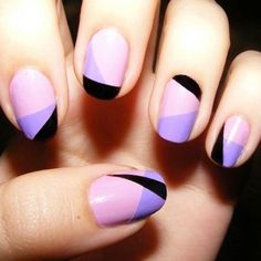 Picture perfect purple and black geometric design that we adore  Get your pu    Click for more