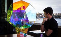 Stunning Microbolante Light Sculpture by Vincent Buret | Wave Avenue