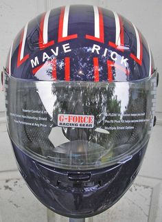 Top Gun Maverick Helmet Decal Set Fancy Dress Motorcycle Movie - Custom motorcycle helmet stickers and decalsbicycle helmet decals new ideas for you in bikes and cycle
