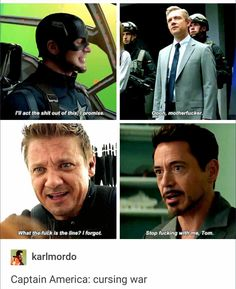 Civil war bloopers